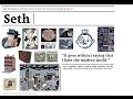 Letters & Arts Speaker Series - Seth