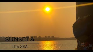 Throwback to a short trip to Hainan Island Sunset Sea Lovers