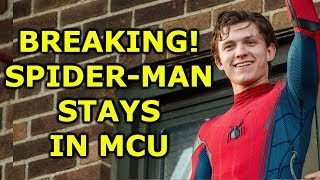 SPIDER-MAN OFFICIALLY BACK IN MCU! SONY DISNEY DEAL DONE!!!!