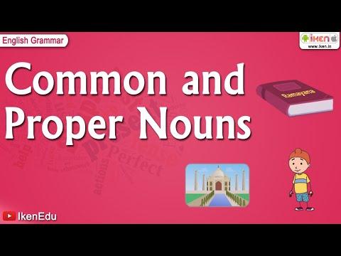 what is common noun