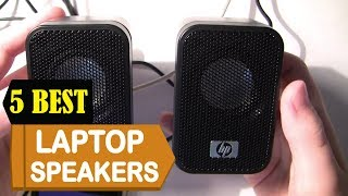 5 Best Laptop Speakers 2018 | Best Laptop Speakers Reviews | Top 5 Laptop Speakers