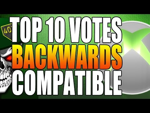 Top 10 Most Requested Backwards Compatible Games For Xbox One