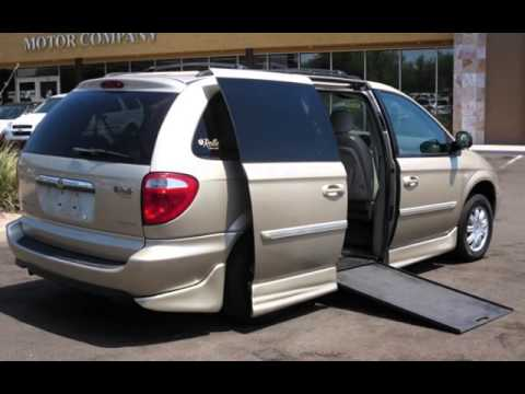 2006 chrysler town country touring wheelchair handicap van for sale in scottsdale az youtube. Black Bedroom Furniture Sets. Home Design Ideas