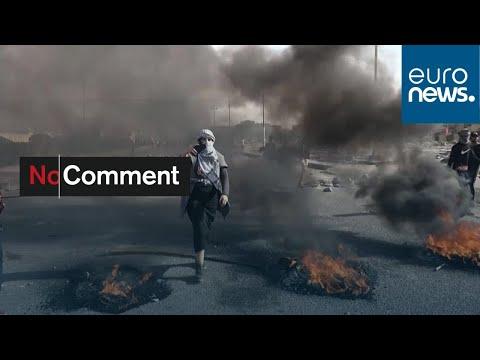 العراق: استمرار الإشتباكات بين المحتجين وقوات الأمن  - نشر قبل 49 دقيقة