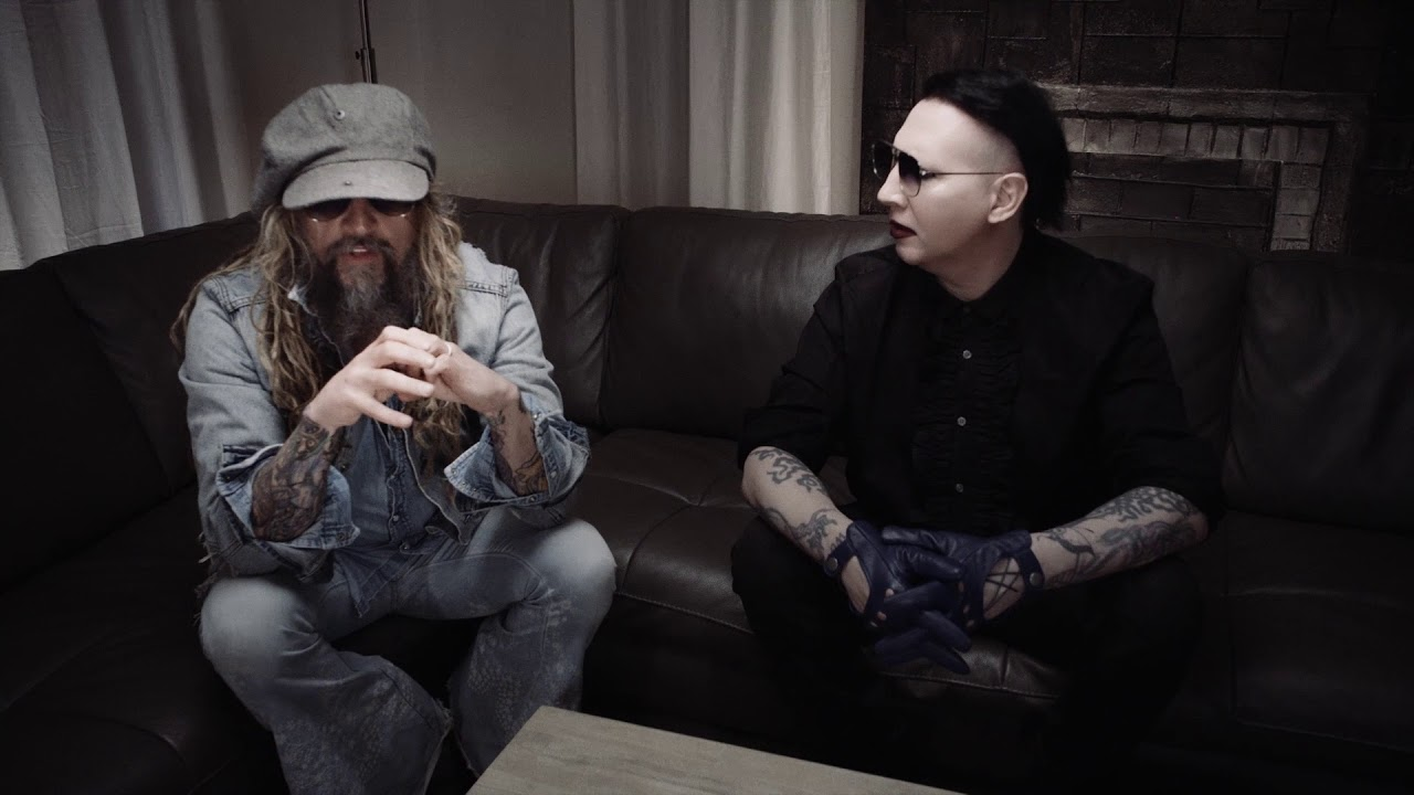 Rob Zombie Marilyn Manson Discuss The First Time They Heard Each Other S Music Youtube