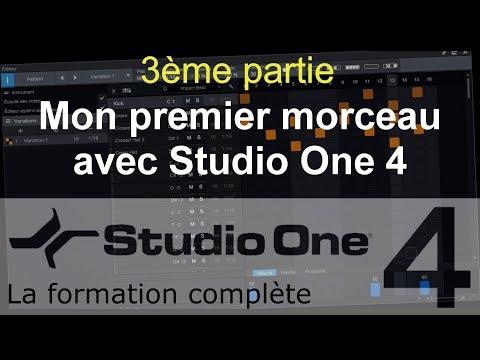 Formation Studio One 4 - C06: Mon premier morceau avec Studio One (3/3)