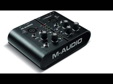 M-Audio M-track PLUS USB внешняя звуковая карта
