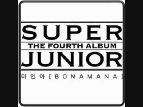 Super Junior- BONAMANA