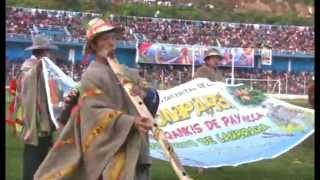PUKLLAY PERÚ, el encuentro nacional del carnaval originario del Perú, Andahuaylas 2012