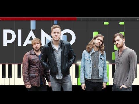 Imagine Dragons Roots Piano Tutorial Midi Cover Sheet Partitura Hard Audio Karaoke