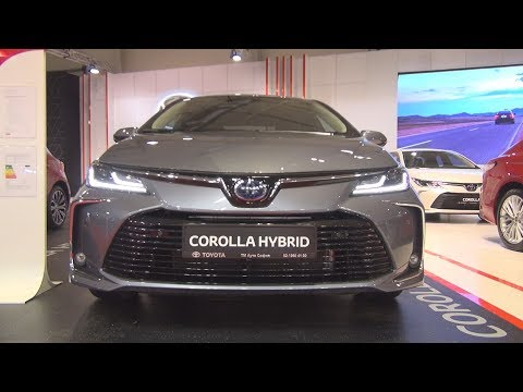 Toyota Corolla 1.8 Hybrid 122 Hp Luxury Plus E-CVT (2020) Exterior And Interior