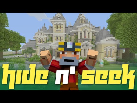 Minecraft Xbox One: Hide N' Seek in Victorian Mansion!