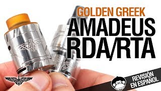 Golden Greek AMADEUS RDA & RTA / ¡¡CONVERTIBLE!! / revisión