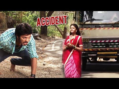 (video) Devyani To Meet With An Accident & Ekka Saves Her | On Location | Star Pravah Serial thumbnail