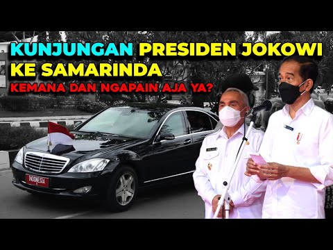 Kunjungan Presiden Jokowi ke Samarinda, Kemana dan Ngapain Aja Ya??
