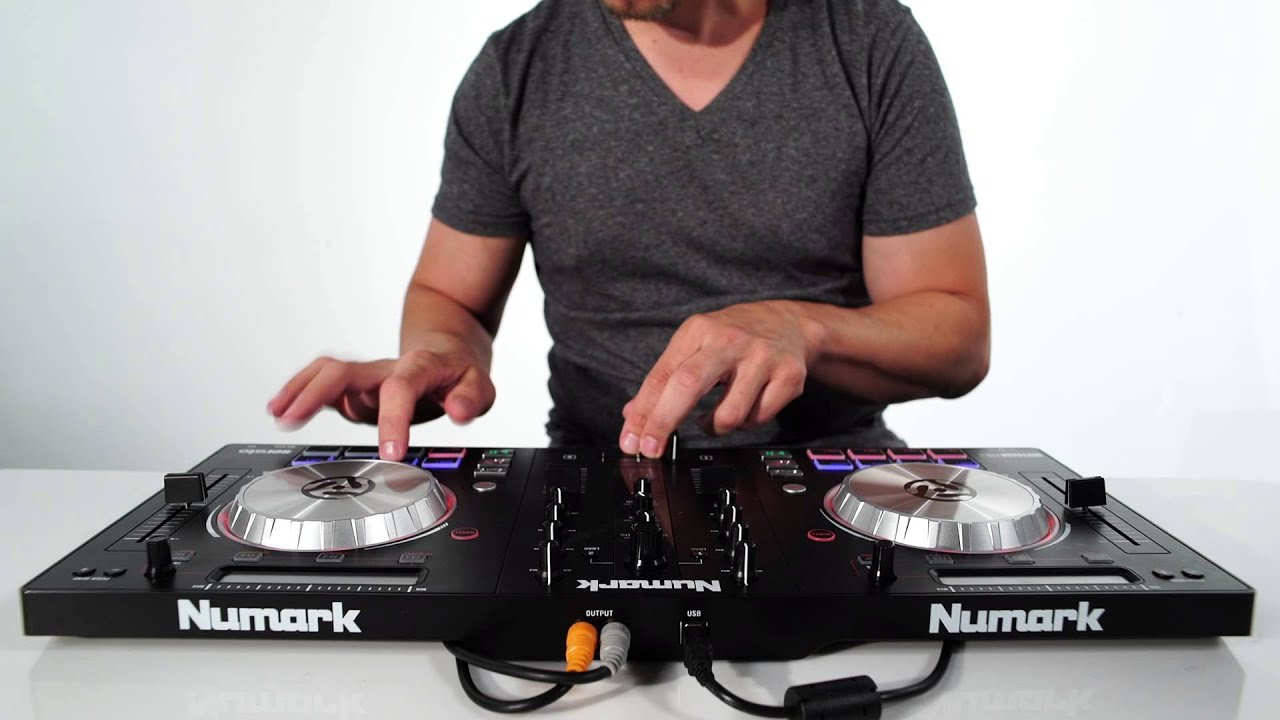 numark numark mixtrack pro 3 dj controller with serato dj intro software vinyl at juno records  [ 1280 x 720 Pixel ]