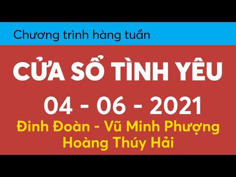 Nghe lại Cửa Sổ Tình Yêu hôm nay 04-06-2021   Tư Vấn Chuyện Thầm Kín   Tư Vấn Hôn Nhân Gia Đình