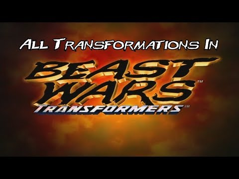 All Transformations In Beast Wars: Transformers