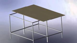 Expanding Shop Table Design