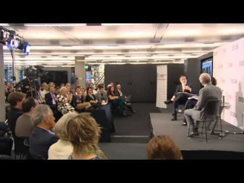Jonathan Sacks and Richard Dawkins at BBC RE:Think festival 12 September 2012