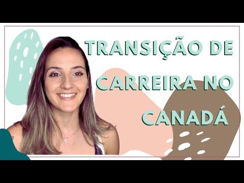 TRANSIÇÃO DE CARREIRA NO CANADÁ