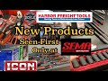 New Hand Tools Pliers ICON Harbor Freight first look SEMA Show 2019