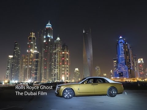 Rolls Royce Ghost - The Dubai Film (driving through Dubai with a Rolls-Royce)