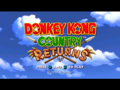 Wii Longplay [010] Donkey Kong Country Returns (World 1 of 8)