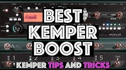 Which is the Best Kemper Boost? - Kemper Tips and Tricks