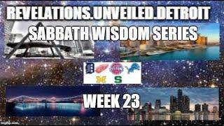 Sabbath Wisdom Series Week-23. 2 Chronicles, Proverbs, Ecclesiasticus, & Psalms.