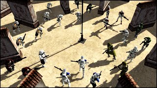PHASE TWO CLONE TEAM FREE-FOR-ALL - Star Wars: Arena Gameplay