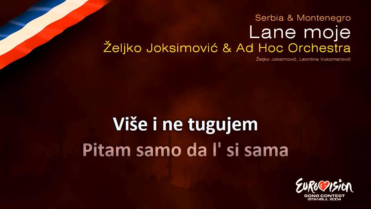 Lane Moje (Türkçe Çevirisi) Dj Dark & Dj Iljano - Zeljko Joksimovic
