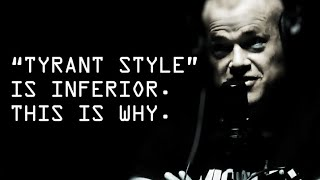 """Jocko Discusses Why Steve Jobs """"Tyrant Style"""" Won't Work For You - Jocko Willink"""