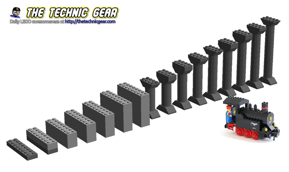 Howto Create Lego Train Inclines Youtube