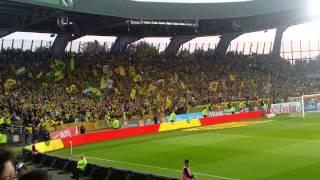 Nantes Lorient battle en tribune Loire