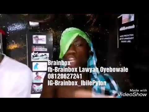 AUDIO/VIDEO: Brainbox X Yung Zeelee - Ibile Rapper Challenge 02 (Freestyle)   @Brainbox_IbilePyton @Iamyungzeelee