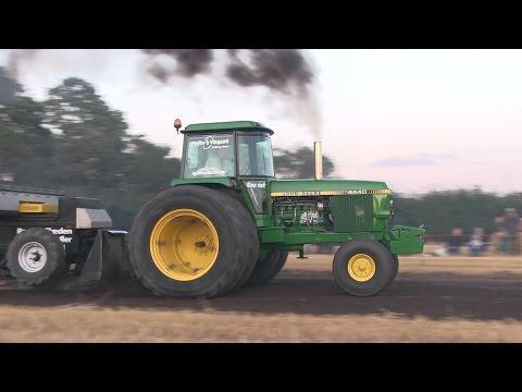 John Deere 4440 | Tractor Pulling Rærup 2015