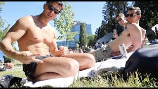 GAY BEACH IN SEATTLE? :P