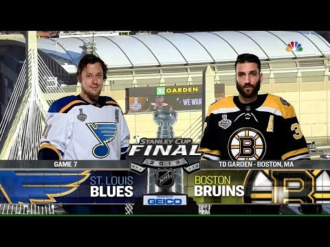 St. Louis Blues vs. Boston Bruins | 2019 Stanley Cup Finals