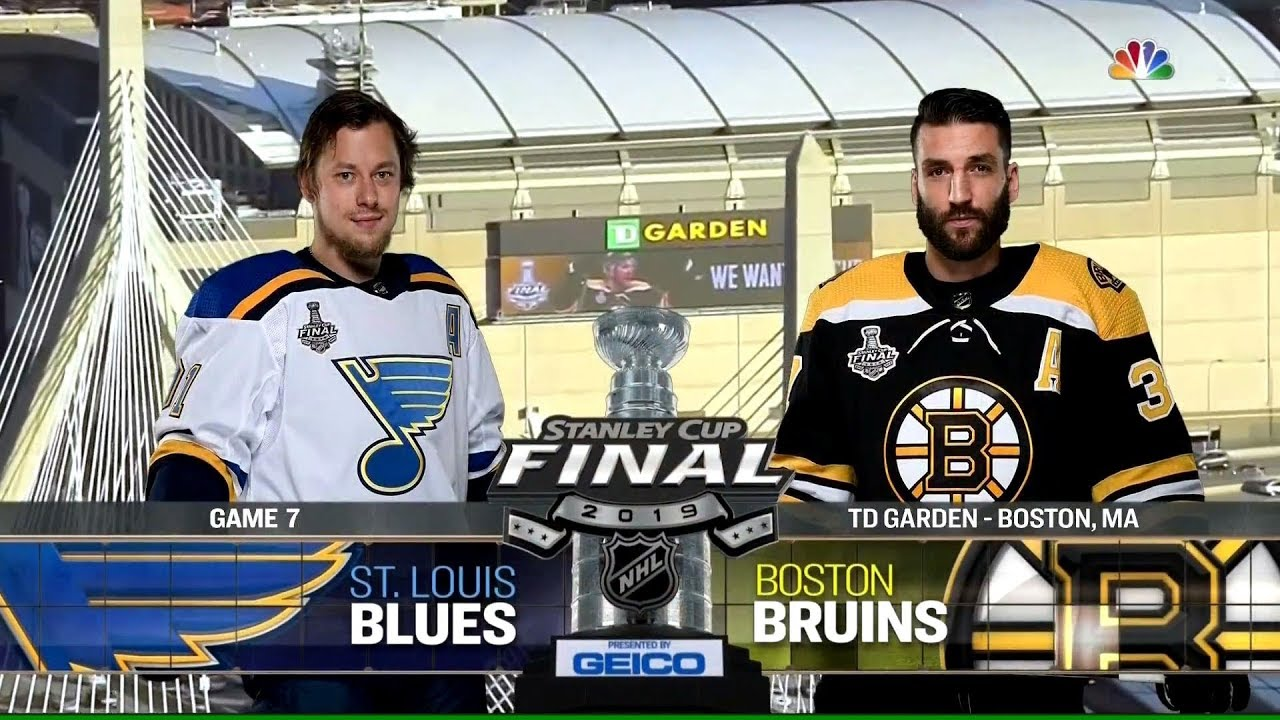 St  Louis Blues vs  Boston Bruins | 2019 Stanley Cup Finals Game 7  Highlights