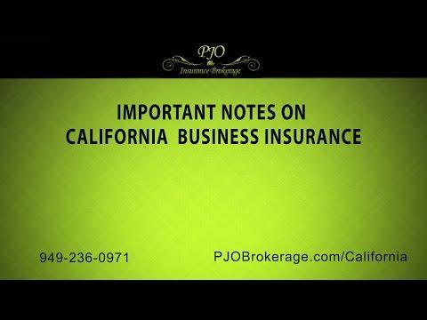 Important Notes On California Business Insurance | PJO Insurance Brokerage
