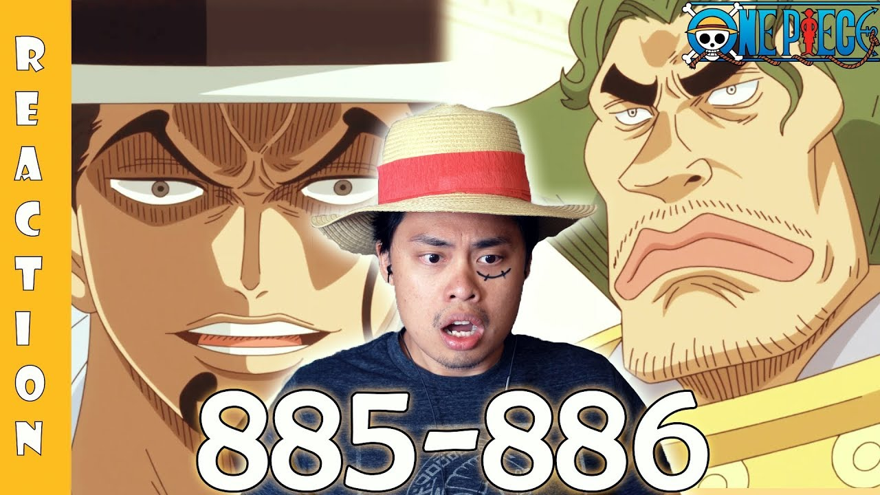 One Piece Episode 885, 886 Reaction and Review! A ...