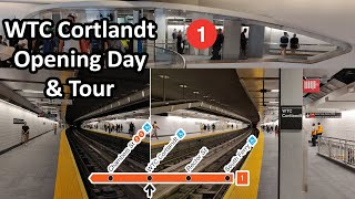 ⁴ᴷ Subway Tour | WTC Cortlandt (1) Re-Opening Day