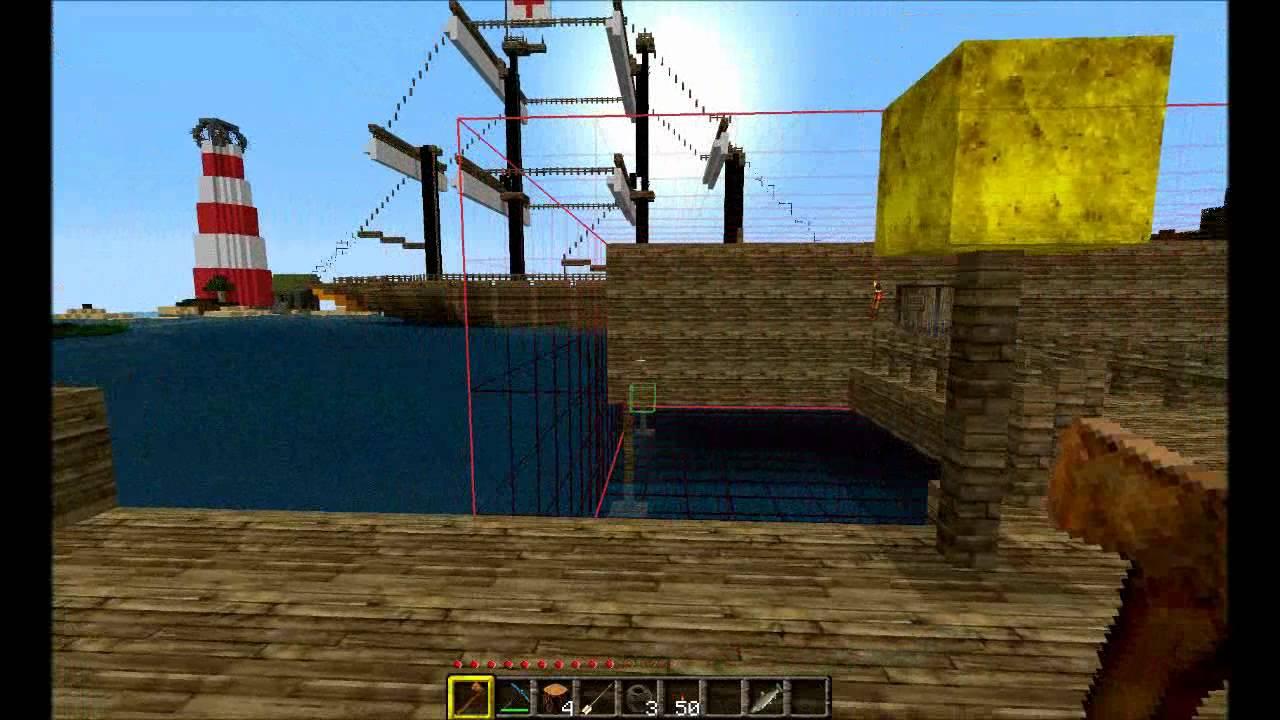 Minecraft Worldedit Schematics short tutorial - YouTube on