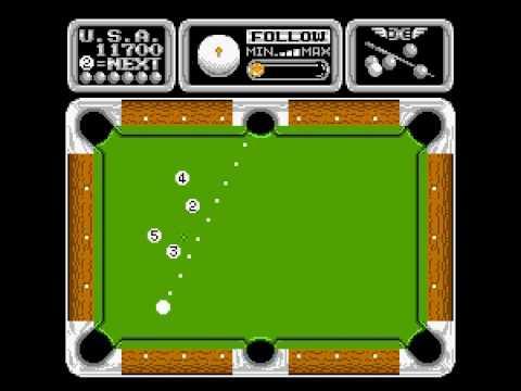 Side Pocket (NES) Pefect Walkthrough