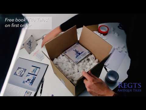 How we pack - Collectibles | Regts - Antique Tiles
