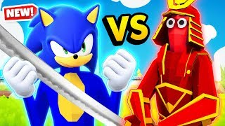 NEW Sonic The Hedgehog VS Every SECRET Unit In TABS (Totally Accurate Battle Simulator Gameplay)