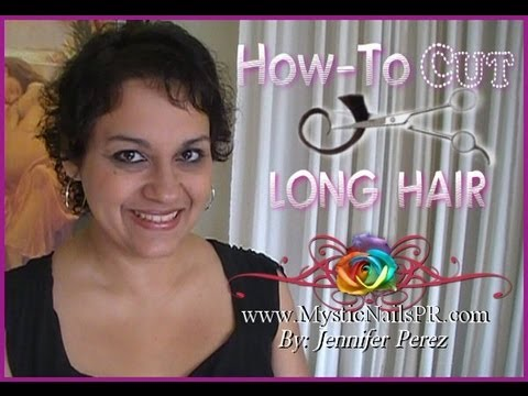 how to style hair at home how to cut hair across easy at home 5181