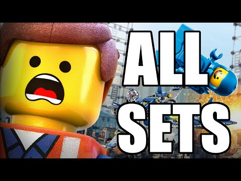THE LEGO MOVIE ALL SETS 2014-2015 (HD)!!!