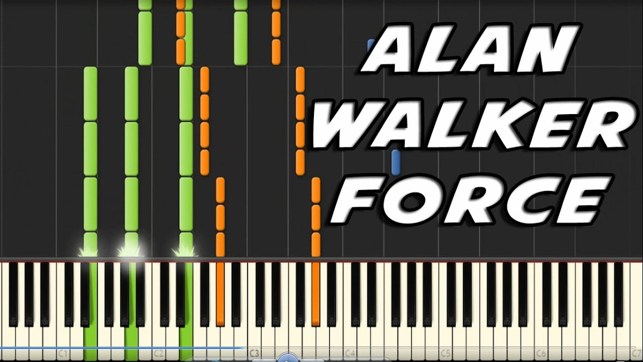 Alan Walker Faded Midi - Learn to Play Songs on Piano